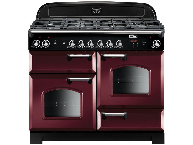 Falcon CLA110DFFCY-CH 110cm Freestanding Dual Fuel Oven/Stove