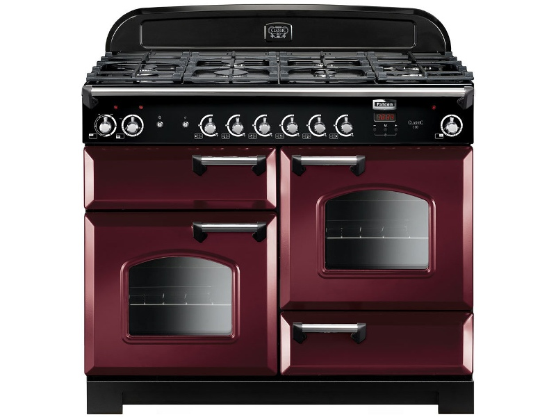 Falcon CLA110NGFCY-CH 110cm Freestanding Natural Gas Oven/Stove