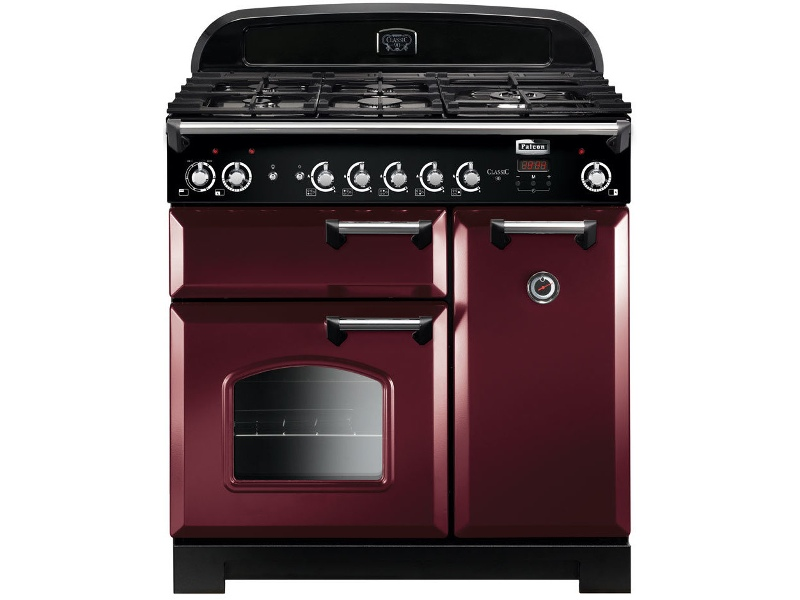 Falcon CLA90DFFCY-CH 90cm Freestanding Dual Fuel Oven/Stove