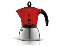 Appliances Online Bialetti Moka Induction Red Espresso Maker 3 Cup CM821