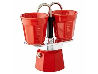 Appliances Online Bialetti Mini Express Red with 2 Ceramic Cups CM920
