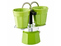 Appliances Online Bialetti Mini Express Green with 2 Ceramic Cups CM921