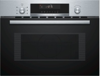 Appliances Online Bosch CMA585MS0A 45cm Serie 6 Built-in Microwave Oven 900W
