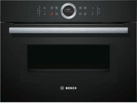 Appliances Online Bosch CMG633BB1A 45cm Serie 8 Compact Combi-Microwave Oven 900W