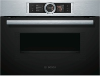 Appliances Online Bosch CMG656RS1A 45cm Serie 8 Compact Combi-Microwave Oven