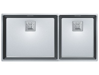 Appliances Online Franke CMX220-50/34 Centinox 1 and 3/4 Bowl Sink