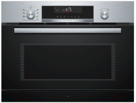 Appliances Online Bosch COA565GS0A 36L Serie 6 Built-In Microwave Oven with Steam Function 1000W
