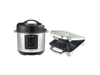 Appliances Online Sunbeam Express Crock Multi-Cooker and Toastie Pack CPE200GR6450