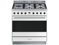 Appliances Online Smeg CS95GMBNA 90cm Freestanding Dual Fuel Oven/Stove