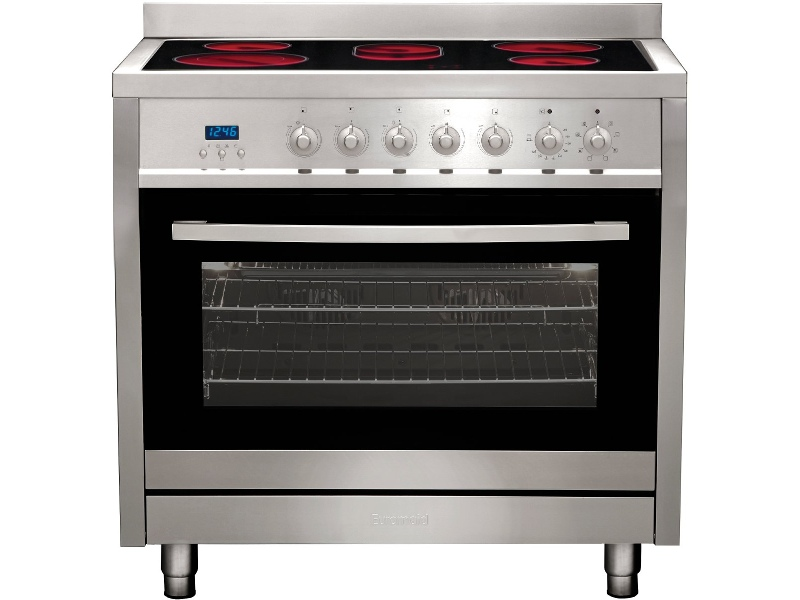 Euromaid CS9TS 90cm Freestanding Electric Oven/Stove