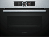 Appliances Online Bosch CSG656RS2A 60cm Serie 8 Compact Combination Steam Oven