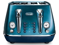 Appliances Online Delonghi CTI4003BL Distinta Flair 4 Slice Toaster