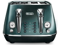 Appliances Online Delonghi CTI4003GR Distinta Flair 4 Slice Toaster