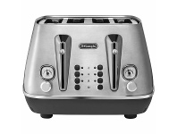 Appliances Online DeLonghi Distinta Livenza 4 Slice Toaster Stainless Steel CTI4003M