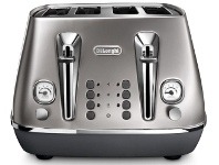 Appliances Online Delonghi CTI4003S Distinta Flair 4 Slice Toaster