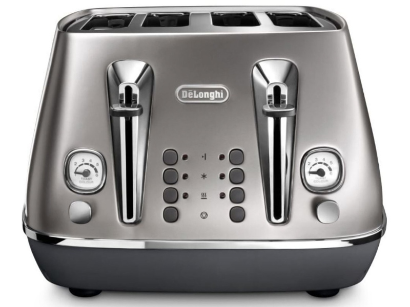 Delonghi CTI4003S Distinta Flair 4 Slice Toaster