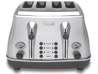 Appliances Online Delonghi CTO4003S Icona 4 Slice Toaster