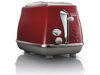 Appliances Online Delonghi CTOC2003R Icona Capitals 2 Slice Toaster Tokyo Red