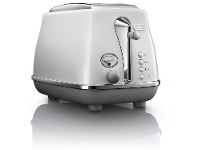 Appliances Online Delonghi CTOC2003W Icona Capitals 2 Slice Toaster Sydney White