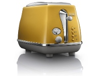 Appliances Online Delonghi CTOC2003Y Icona Capitals 2 Slice Toaster New York Yellow