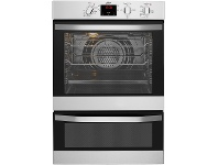 Appliances Online Chef CVE624SA 60cm Electric Built-In Double Oven