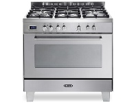 Appliances Online Delonghi DEFP907S 90cm Freestanding Dual Fuel Oven/Stove