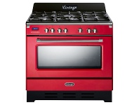Appliances Online Delonghi DEFV908R 90cm Freestanding Dual Fuel Oven/Stove