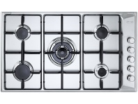 Appliances Online Delonghi DEGH90STF 90cm Natural Gas Cooktop