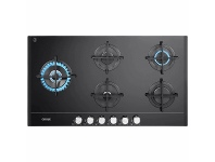 Appliances Online Delonghi 90cm 5 Burner Black Glass Gas Cooktop DEGHBG90