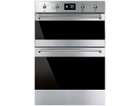 Appliances Online Smeg DOSFA6390X 60cm Classic Aesthetic Built-In Electric Double Oven