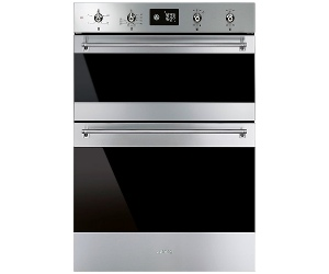 Smeg DOSFA6390X 60cm Classic Aesthetic Built-In Electric Double Oven