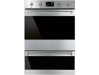 Appliances Online Smeg DOSPA6395X 60cm Classic Aesthetic Pyrolytic Electric Built-In Double Oven