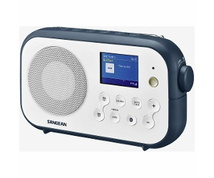 Sangean DAB+ Portable Radio with Bluetooth DPR42BTIB
