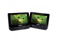 Appliances Online Laser DVD-PORT7-DUALB DVD Player Dual In Car 7 with Bonus Pack
