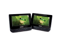 Appliances Online Laser DVD-PORT7-DUALC DVD Player Dual In Car 7 with Bonus Pack