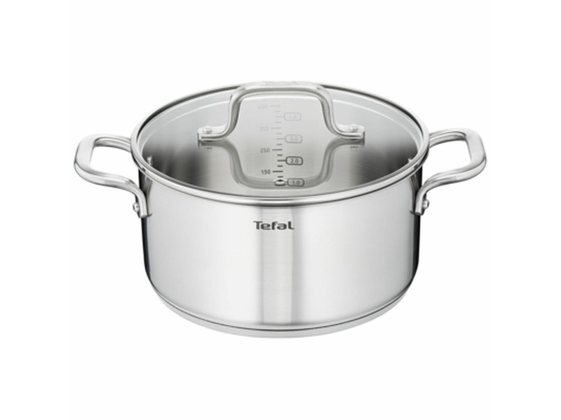 Tefal 20cm Virtuoso Stainless Steel Induction Stewpot E4924474