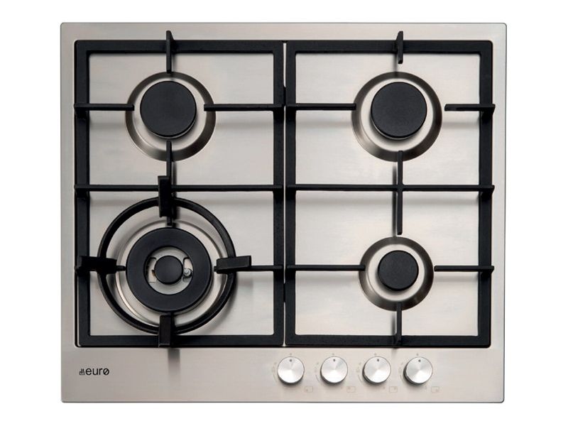 Euro Appliances E60CTWX 60cm Natural Gas Cooktop
