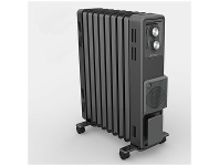 Appliances Online Dimplex 2.4kW Oil Free Column Heater with Thermostat and Turbo Fan ECR24FA