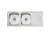Appliances Online Oliveri EE71 Endeavour Double Bowl Right Hand Drainer Sink