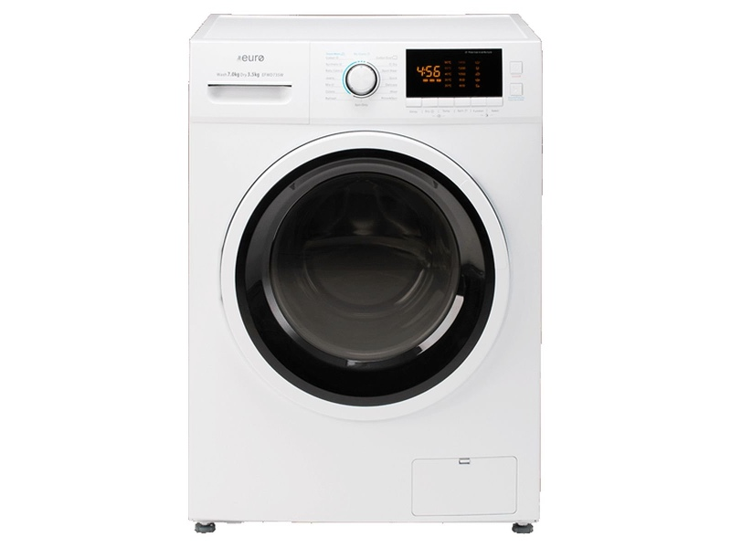 Euro Appliances 7kg/3.5kg Front Load Washer Dryer Combo EFWD735W