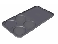 Appliances Online Glem EGPL1 Breakfast Griddle Plate