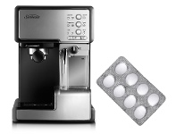 Appliances Online Sunbeam Espresso Machine Cleaning Tablets and Café Barista Coffee Machine Pack EM0020EM5000