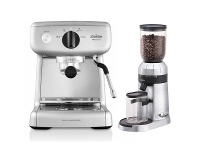 Appliances Online Sunbeam Mini Barista Espresso Coffee Machine & Coffee Grinder EM4300EM0480
