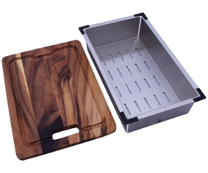 Emilia EMCL40 Chopping Board and Colander