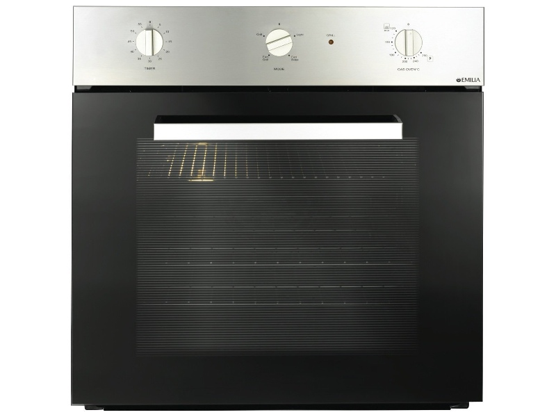 Emilia EMF61MVI 60cm Natural Gas Built-In Oven