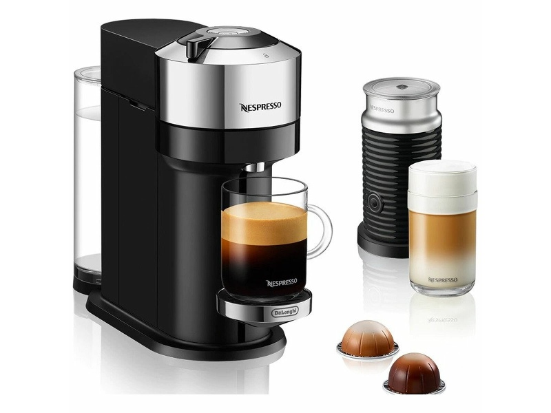 DeLonghi Vertuo Next Automatic Coffee Machine with Aeroccino Milk System ENV120CAE