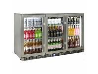 Appliances Online Rhino 3 Door Bar Fridge ENV3H-SS
