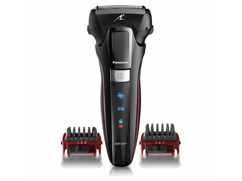 Panasonic ES-LL41-K541 3 Blade Linear 2D Shaver with 2 Comb Attachment