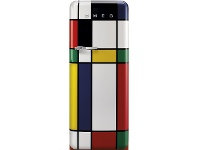 Appliances Online Smeg 270L 50's Retro Style Aesthetic Top Mount Fridge Multi-Colour FAB28RDMC3