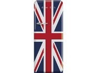 Appliances Online Smeg 270L 50's Retro Style Aesthetic Upright Fridge Union Jack FAB28RDUJ3